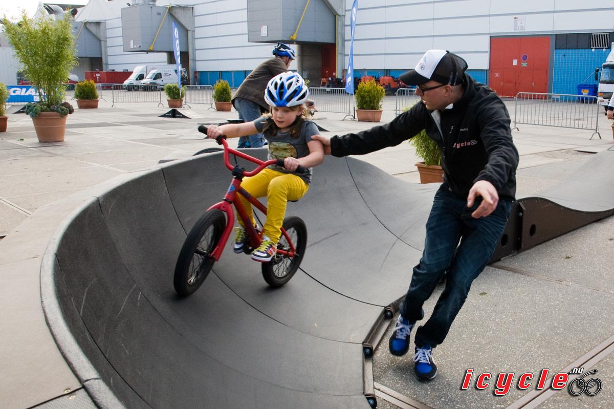 Pumptrack tijdens Tour de France in Utrecht