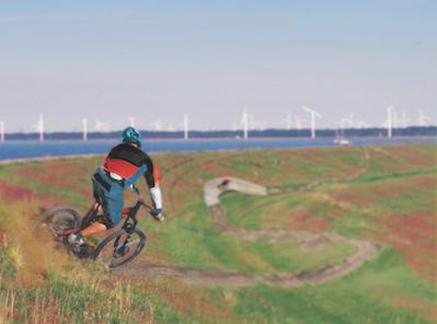 Bikefestival Flevoland, provincie Flevoland aanjager van nieuwe mountainbike beleving