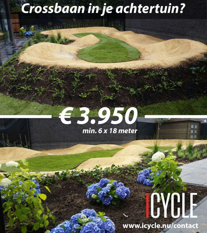pumptrack gralux tuin halfverharding bmx fietscross