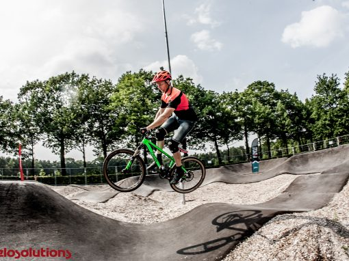 Asfalt pumptrack op Recreatiepark TerSpegelt